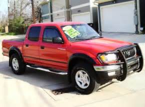 Used Toyota Truck For Sale 2002 Toyota Tacoma Prerunner V6 For Sale In Houston Tx
