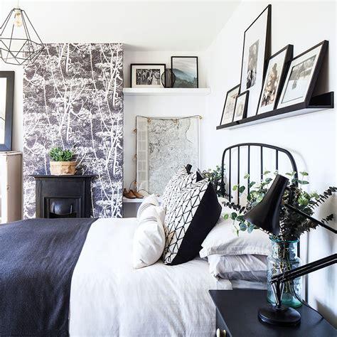 smart monochrome bedroom makeover   budget