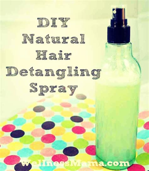 10 diy natural hair products the good the bad the ugly diy detangler spray musely