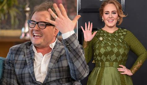 Wedding Song Adele by Adele Reveals That She Officiated Alan Carr S Wedding