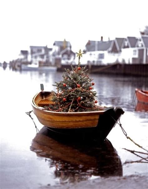 christmas tree on a boat pictures photos and images for