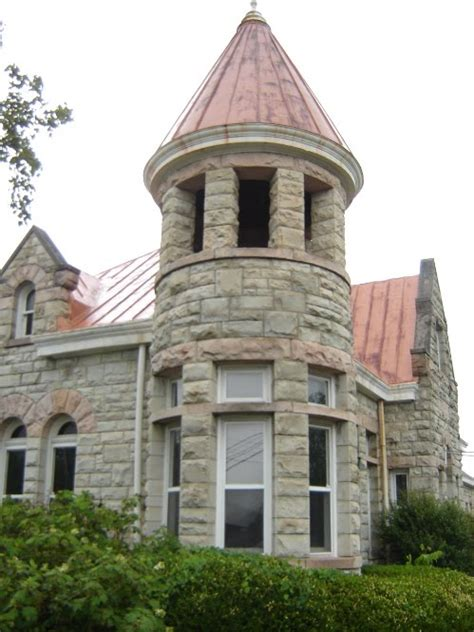 turret on a house home stone turret dream house pinterest