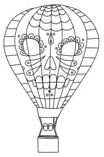air balloon coloring page air balloon printable coloring pages