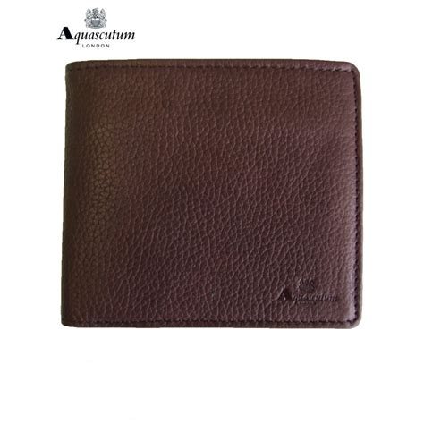 Wallet Brown aquascutum wallet brown leather