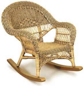 kids childs cane wicker rattan rocking chair ebay