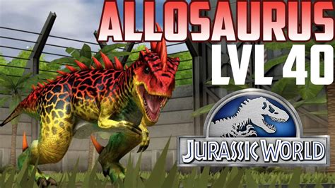 Jurassic World The Game Giveaways Top - allosaurus jurassic world the game level 40 funnydog tv