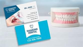 got print business card template dentist business card design inspirations gotprint