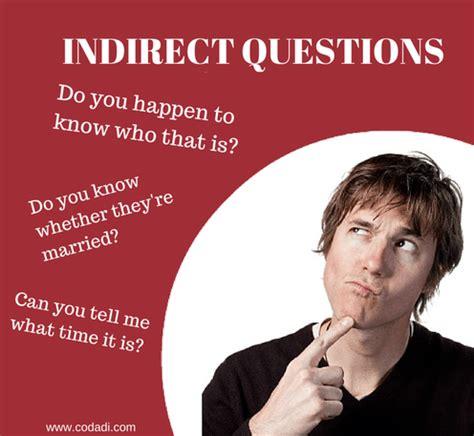 preguntas indirectas oraciones indirect questions como hacer preguntas indirectas en