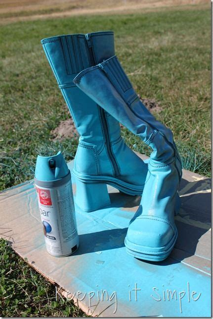 spray painting boots spray painted boots 3 paint it spray