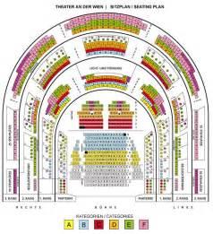 Vienna Opera House Seating Plan Theater An Der Wien October 2017 Schedule And Tickets
