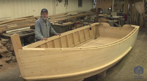 total boat skiff build building the totalboat work skiff the guards totalboat