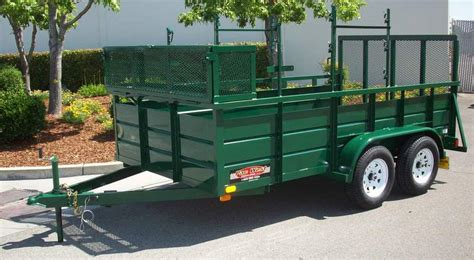 used landscape trailers new and pre owned open trailers pac west trailers