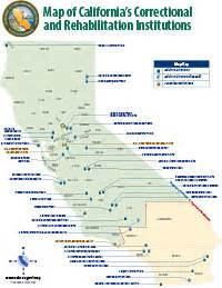 california state prisons map printable maps of california s correctional facilities