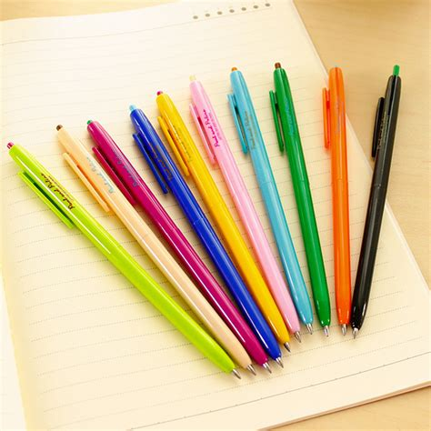Six Colors In One Ballpoint Pen Pulpen 6 Warna colorful ballpoint pens 83699 softblog