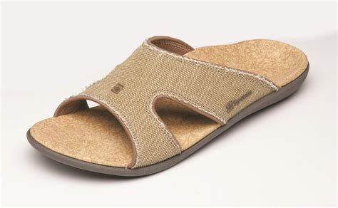 orthotic sandals mens spenco kholo s orthotic slide sandals 2012 model
