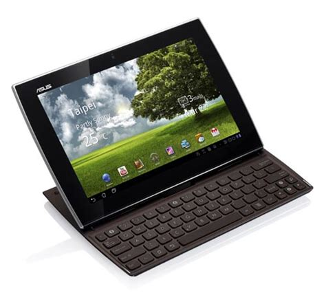 tablet keyboards for android asus eee pad slider sl101 android tablet with built in keyboard gadgetsin