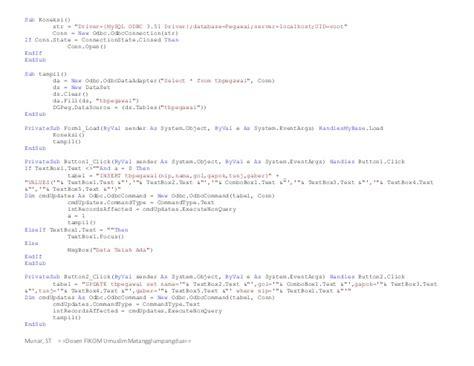 membuat database pegawai mysql membuat database mysql