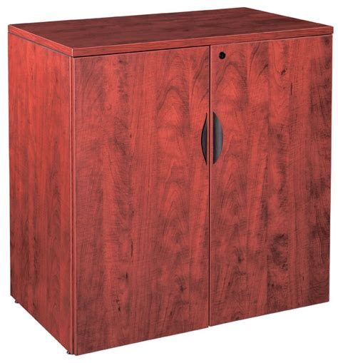 36 wood storage cabinet wood laminate 36 quot 2 door storage cabinet with lock