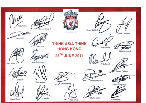 help with recognizing signatures liverpoolfc