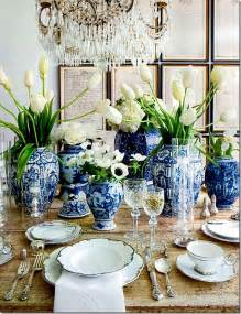 Candle Looking Chandelier Chic Glamorous Table Setting Ideas