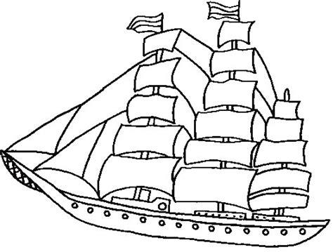 imagenes para colorear barco dibujos para colorear barcos de vela