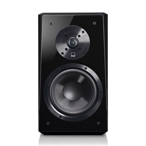 svs ultra black gloss bookshelf speakers pair svs