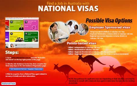 Find Information On In Australia Assistance Service Easier Way To Find A In Australia Australia Visa