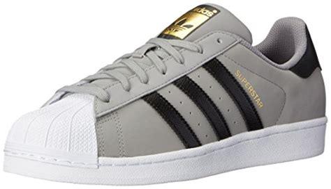 Adidas 5 Stripe White Solid Sport Shoes adidas originals s superstar basketball shoe solid grey black white 10 5 m us sun deals