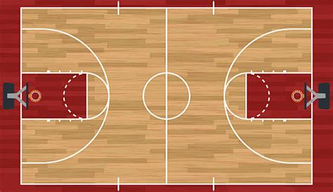 basketball court clipart basketball court clip vector images illustrations