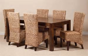 Wicker Dining Room Furniture by Finding The Best Wicker Dining Room Chairs
