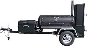 meadow creek ts120 barbeque smoker trailer