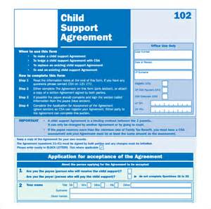 Child Support Agreement Letter by Child Support Agreement 8 Free Documents In Pdf