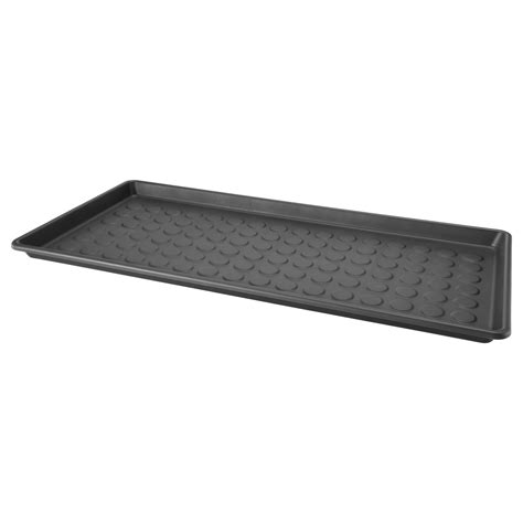 ikea floor mats baggmuck shoe mat in outdoor grey 71x35 cm ikea