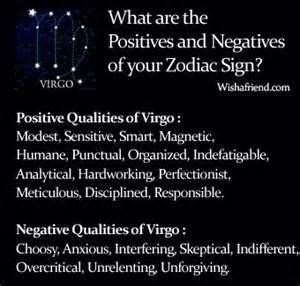 astrology what are the best and worst qualities of virgos