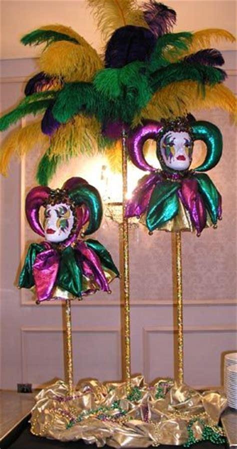 mardi gras centerpieces home dressing the major