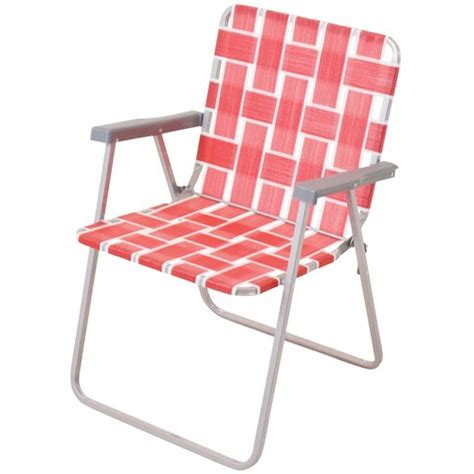 Lightweight Patio Chairs by Folding Webbed Chaise Lounge