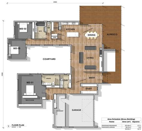 us homes floor plans the 25 best u shaped house plans ideas on u