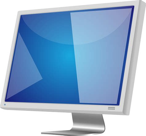 Monitor Lcd Pc computer monitor lcd screen vector free psd vector icons