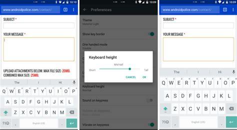 google keyboard design gro 223 es update f 252 r das google keyboard ein hand modus