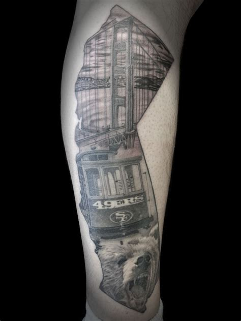 san francisco tattoo 44 best san francisco 49ers tattoos images on