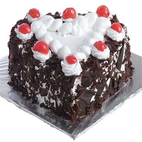 black forest cake  heart
