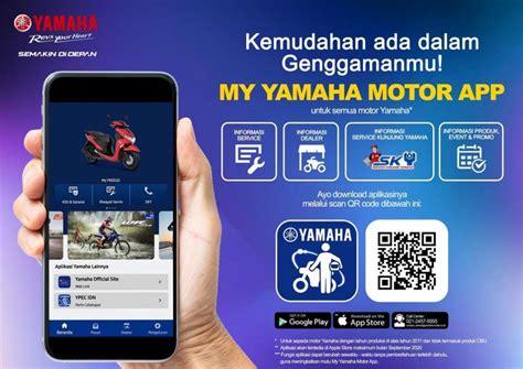 yamaha perkenalkan aplikasi mudahkan akses informasi