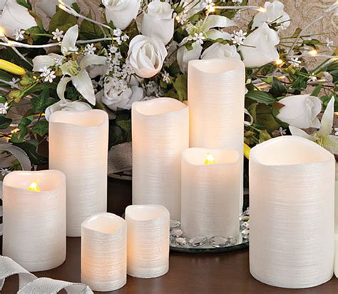 wedding reception with candles flameless wedding candles for your reception honeymoon