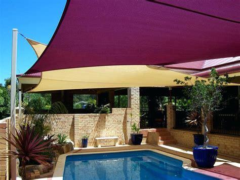 backyard sail shade sail pool shade ideas backyard pool shade ideas