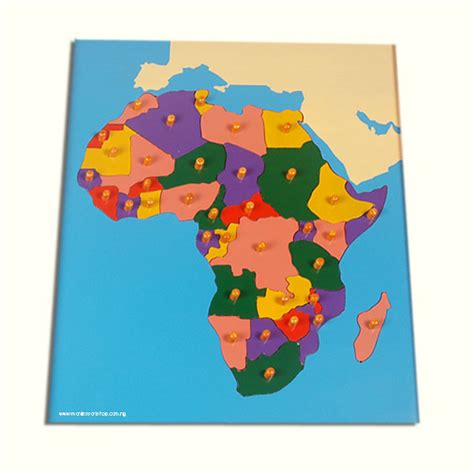 printable puzzle map of africa africa map puzzle
