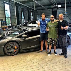 rapper timati has a new toy a mansory carbonado