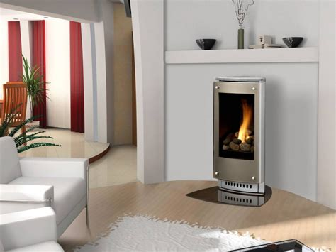 Fireplace Free Standing by Free Standing Gas Fireplace Home Installation Process