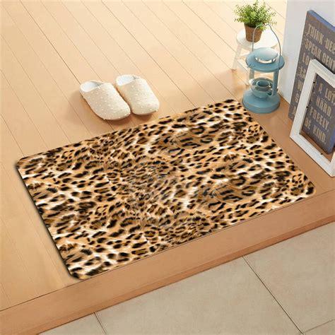 Leopard Doormat by K 134 Custom Classic Leopard Pattern E Doormat Home