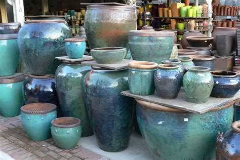 Pottery Planters by Glazing Glazed Ceramic Pots