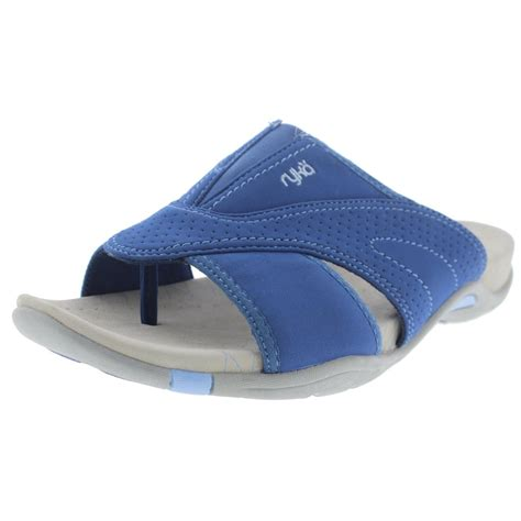 athletic slides shoes ryka 9352 womens essence casual slide athletic